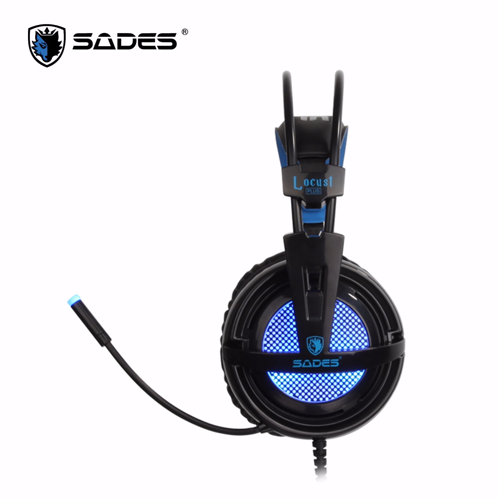 Sades Locust Plus Rgb71 Usb Nt1890 Knight Pro Bongiovi 71 Gaming Headset